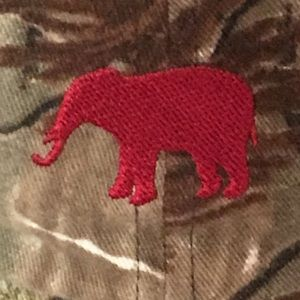 2f7b85439 Red Elephant Alabama Nike Real-Tree Adjustable Cap
